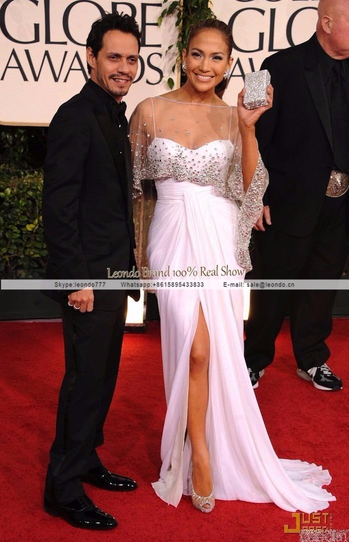 Vestido De Jennifer Lopez En Los Globo De Oropor Encargue