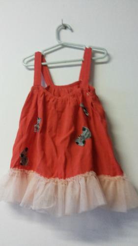 vestido de nena para 2-4 años importado de america