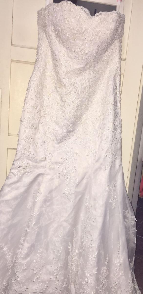 60ef70ee8 vestido de novia impecable solo usado unas horas. Cargando zoom.