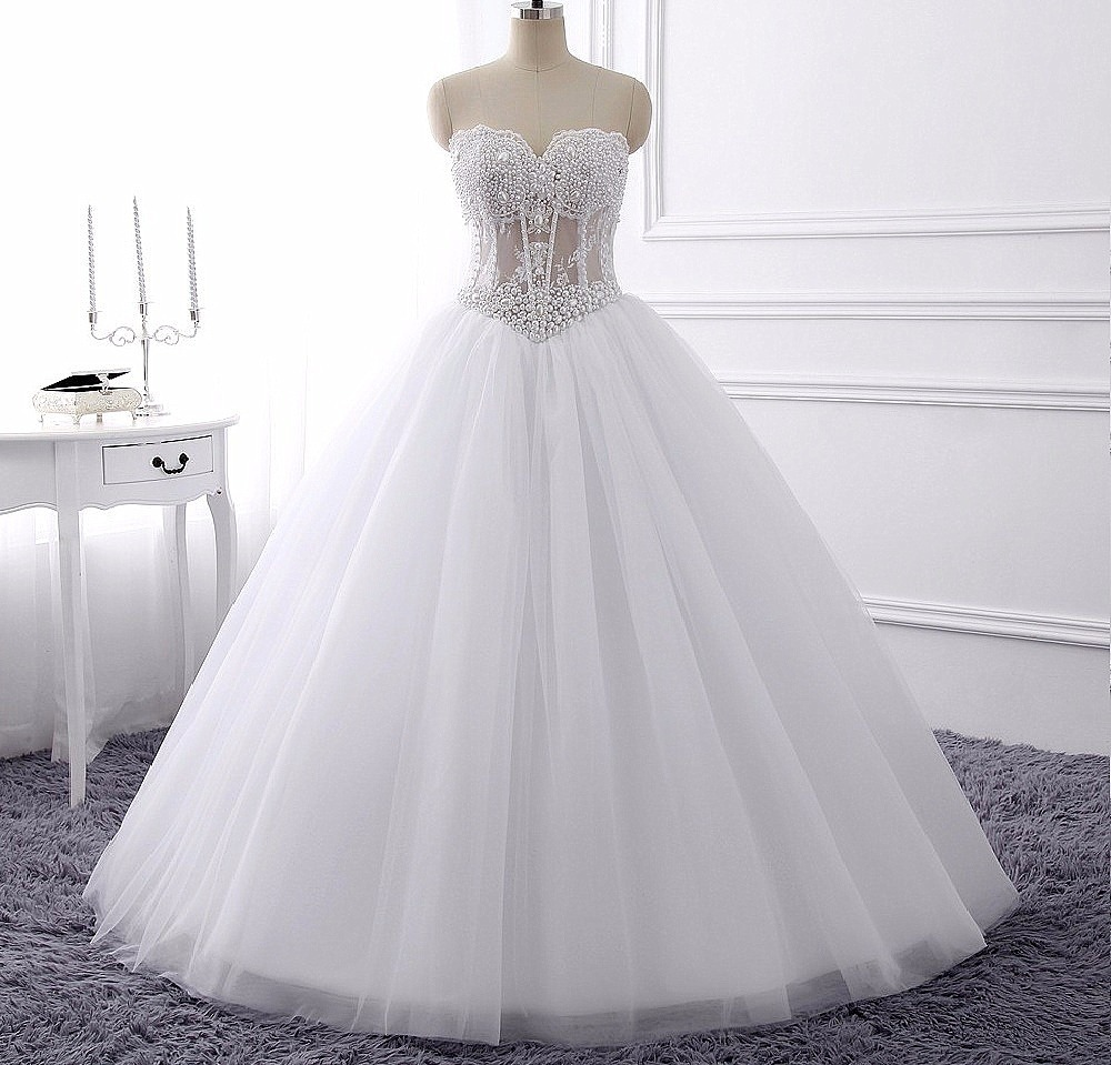 Vestidos de novia en corset
