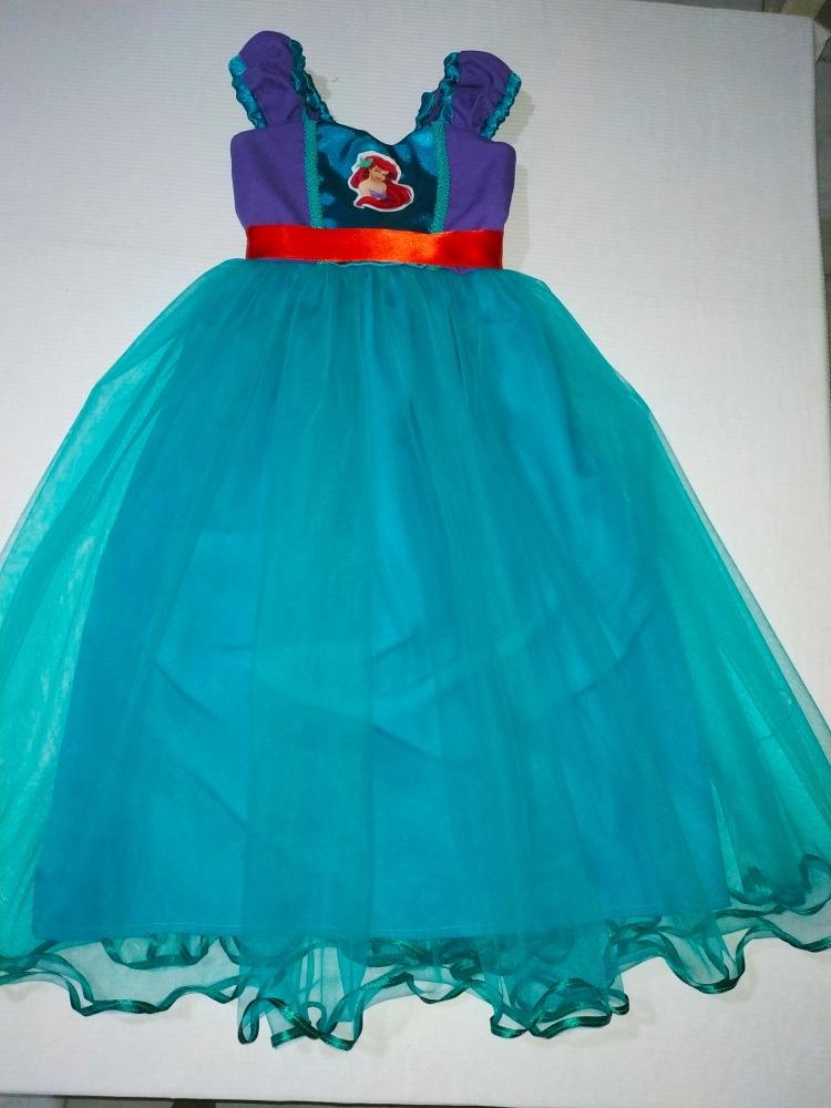 Vestido Disfraz Ariel La Sirenita