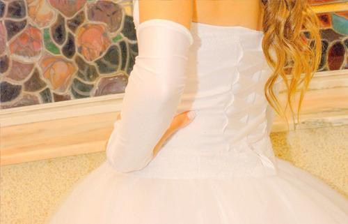 vestido doble de 15 garislugo! impecable!