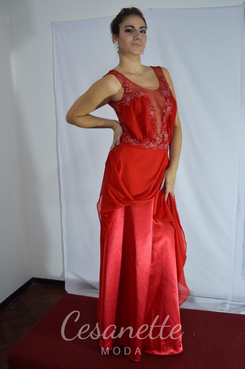 Vestidos de fiesta rojos mercadolibre