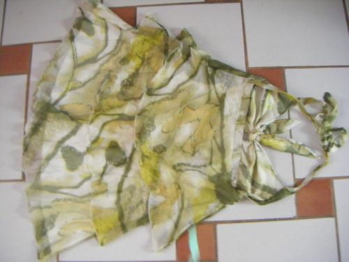 vestido  nuevo de seda  caribbean queen