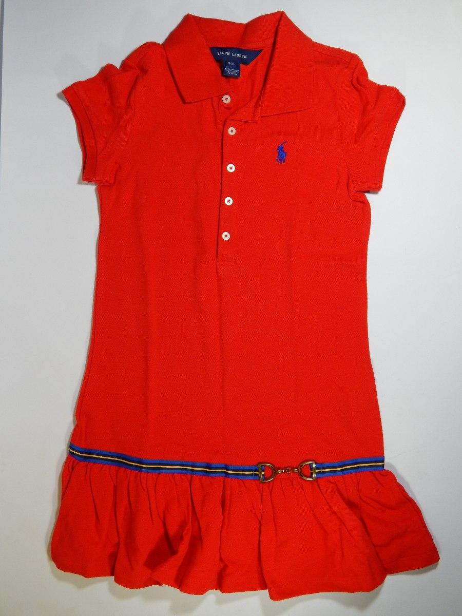 Ralph Vestido Polo Vestido Lauren Niña ZPuOkiXT