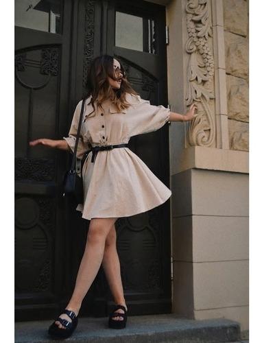 vestido primavera verano corto mangas ve-52 | por encargue