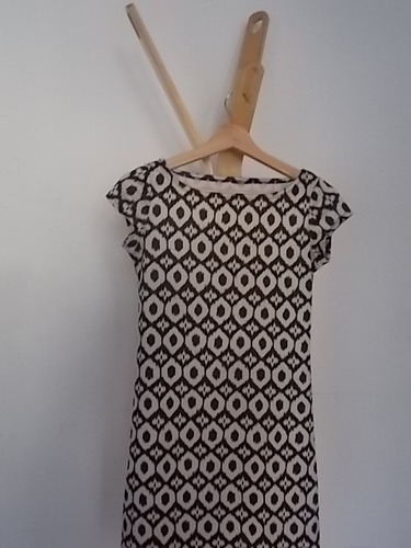 vestido retro divina tela, muy gruesa nuevo!