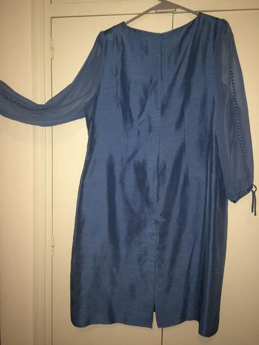 vestido señora alta costura mirta mainardi talle xl