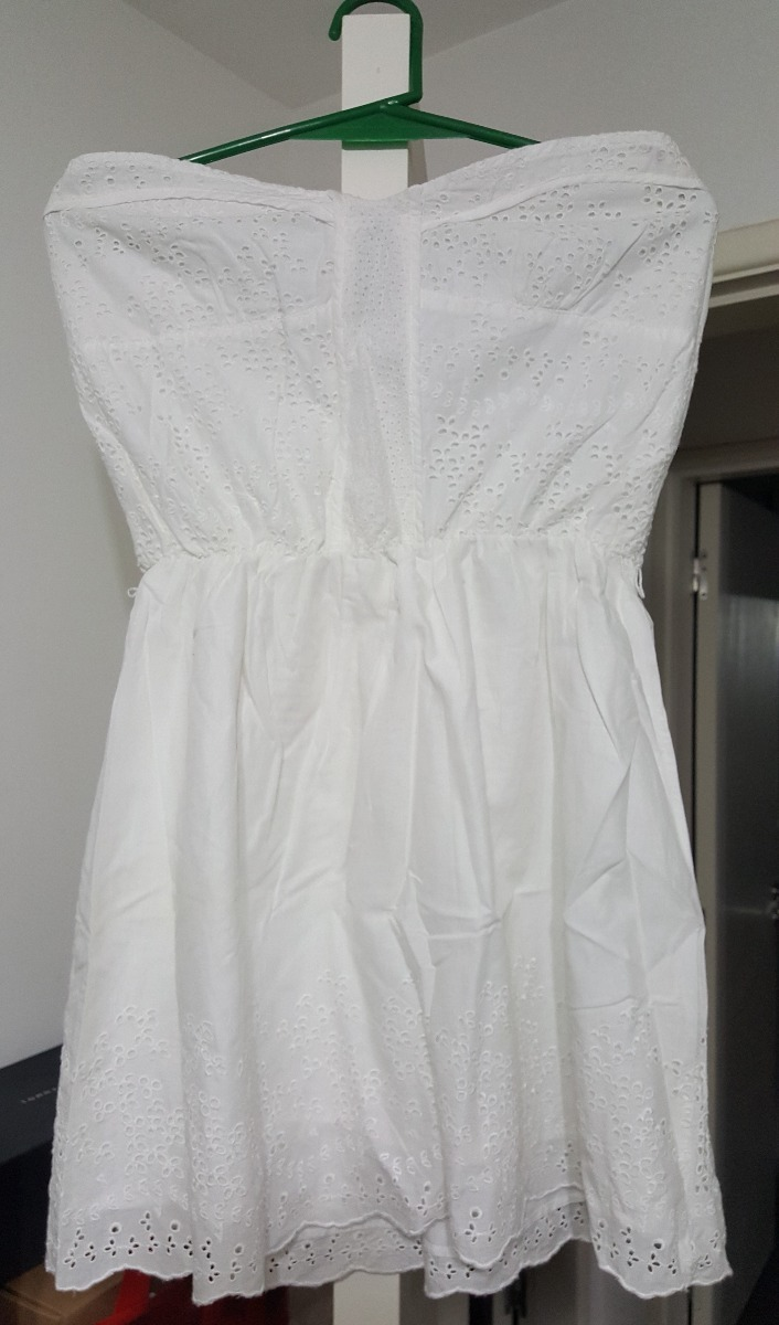 fd61da795c vestido strapless blanco de daniel cassin. Cargando zoom.