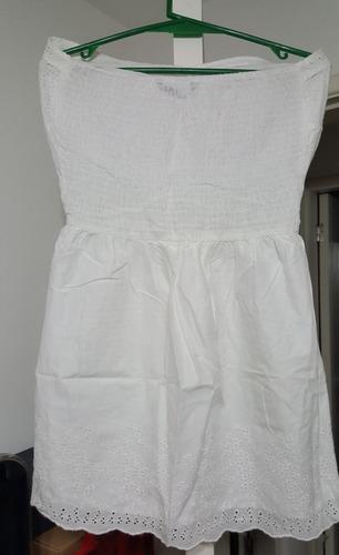 f8ae254e5c Vestido Strapless Blanco De Daniel Cassin -   690