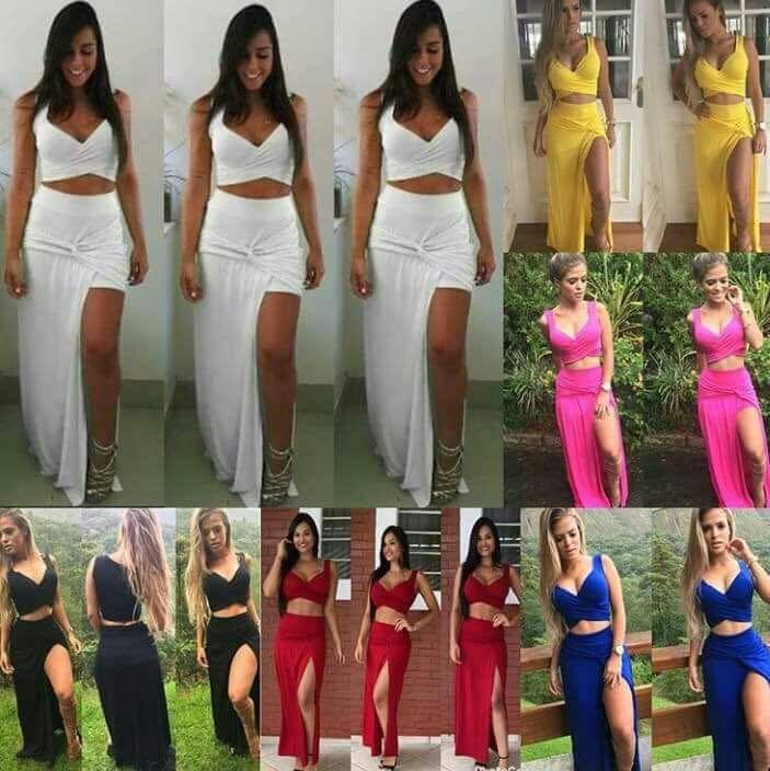 Vestidos 2 Piezas Y Short Importados