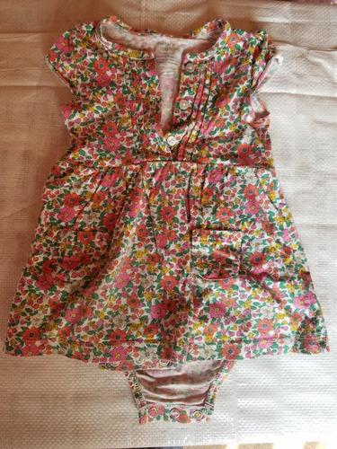vestidos carter's talle 9 meses algodón