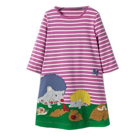 vestidos casuales para niñas