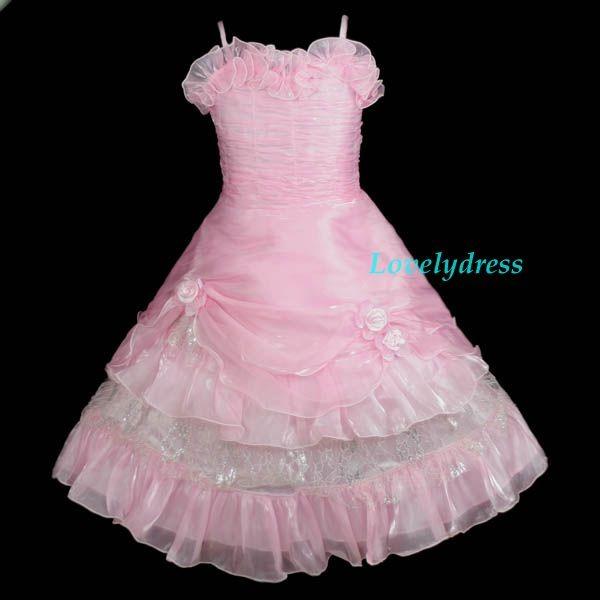 Vestidos De Fiesta Para Niña - $ 1.490,00 en Mercado Libre