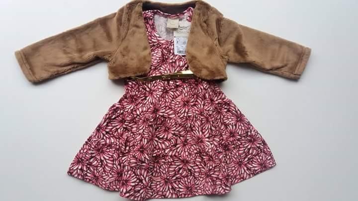 082842975 Vestidos Para Bebe Otoño invierno Excelente Calidad -   499