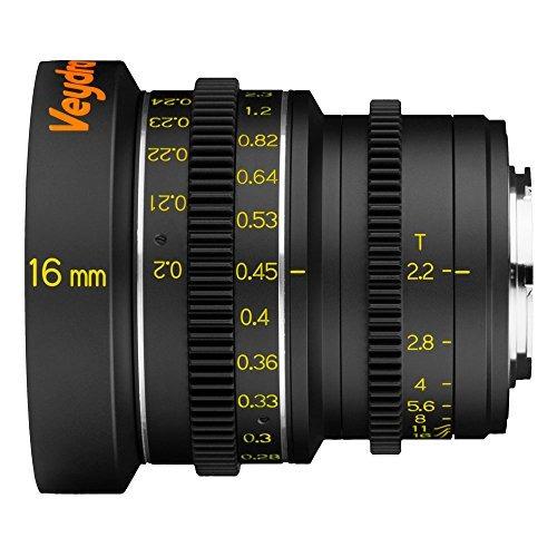 veydra v1-16t22cmountm mini prime 16mm t2.2 c-mount metric