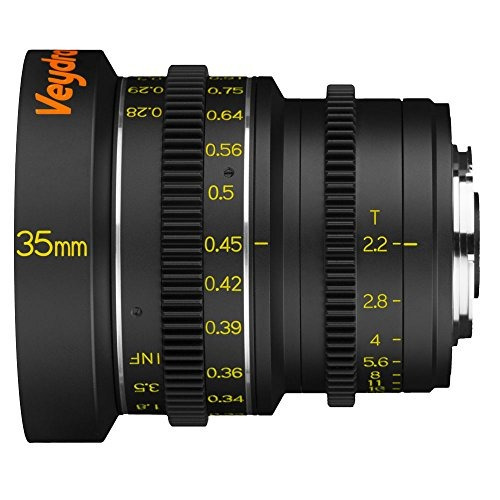 veydra v1-35t22cmountm mini prime 35mm t2.2 c-mount metric