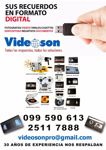 vhs a dvd mp4  , hi8, mini dv , audio diapos cine digital