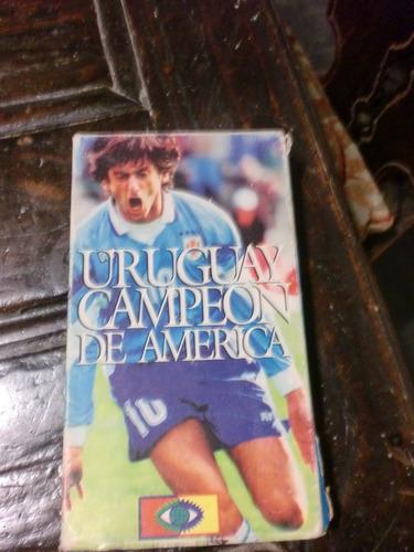 vhs uruguay campeon de america 1995