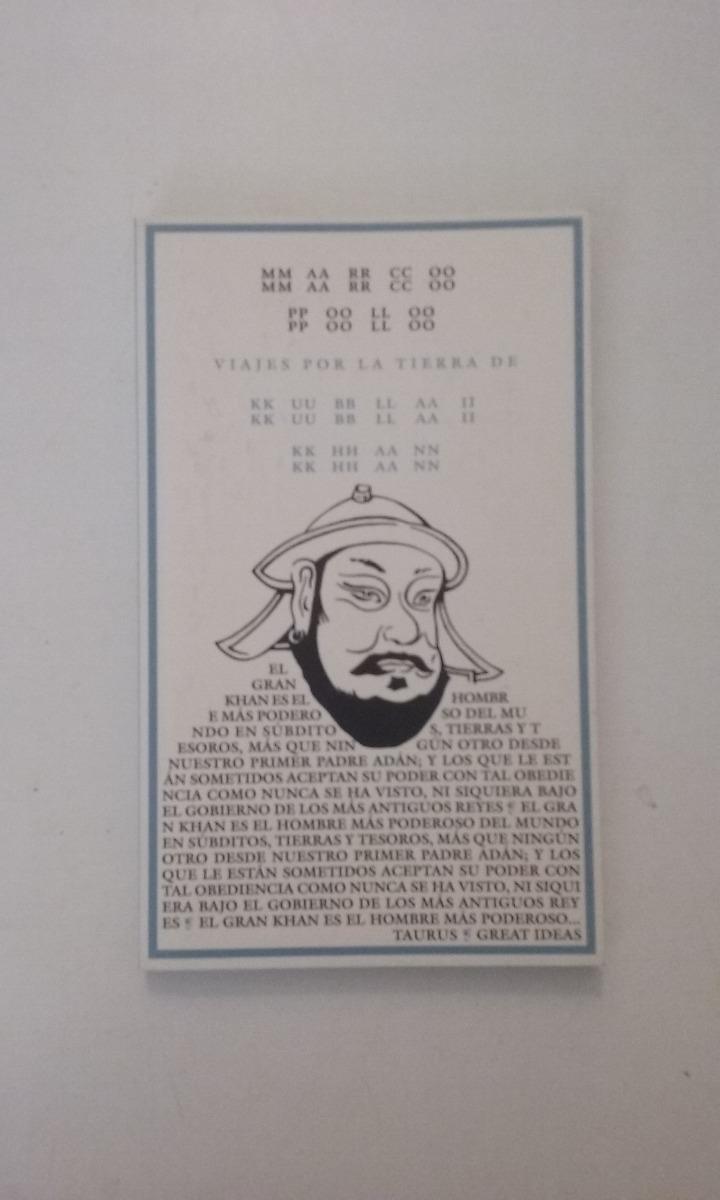 Viajes Por La Tierra De Kublai Khan - Marco Polo Ed Taurus - $ 130 ...