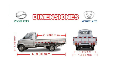 victory auto k1 camioneta pick up cabina simple