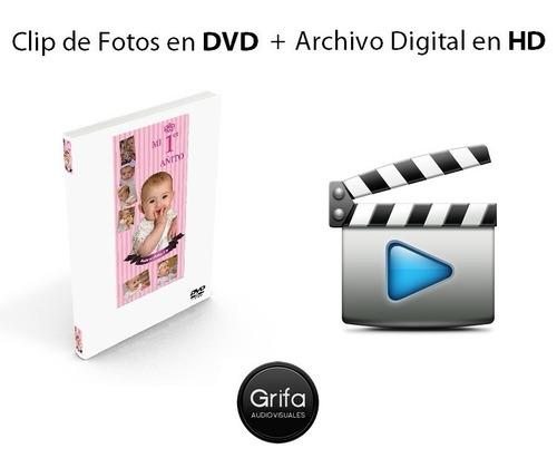 video de fotos. fotohistoria. clip fotos. bautismo. 15 años.
