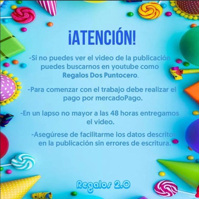 Video Invitacion De Cumpleaños Paw Patrol