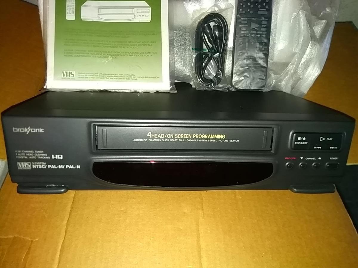 1104f7bff Videograbador Vhs Broksonic Nuevos En Caja Original U  59.00 - U S ...