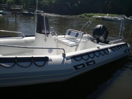 viking 6mts con mercury 60 hp 4 tiempos ideal lagos del sur