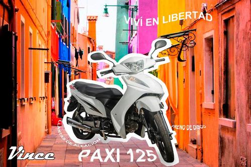 vince paxi 110 incluye casco y empadronamiento