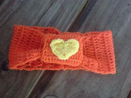 vinchas tejidas a mano a crochet