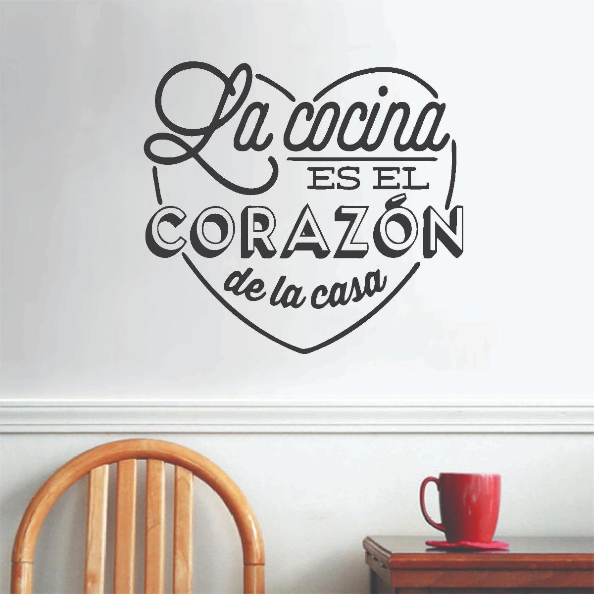 Vinilo Decorativo Pared Cocina Comedor Cafetería - $ 390,00 en ...