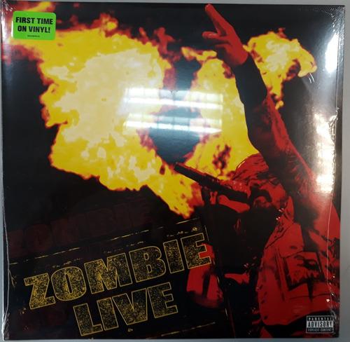 vinilo doble rob zombie en vivo