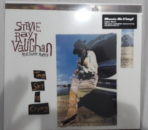 vinilo steve ray vaughan the sky is crying