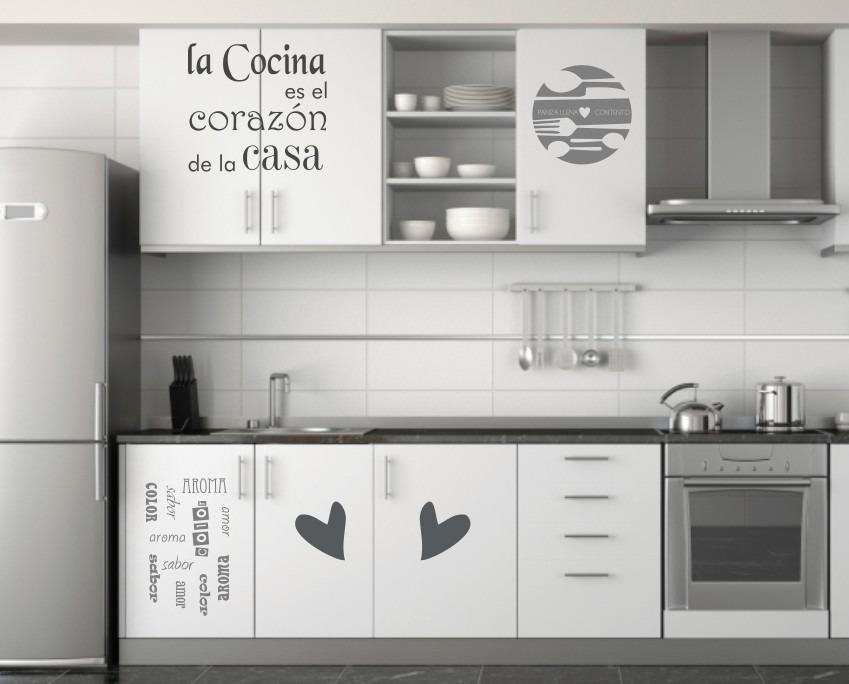 Vinilos Cocinas Decorativos Frases Nuevos Env O Gratis