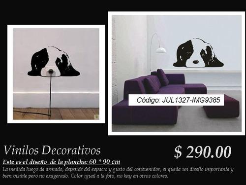 vinilos decorativos perro cachorro