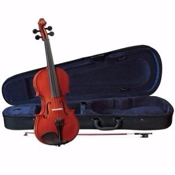 violin cervini hv100 4/4 con estuche arco y resina