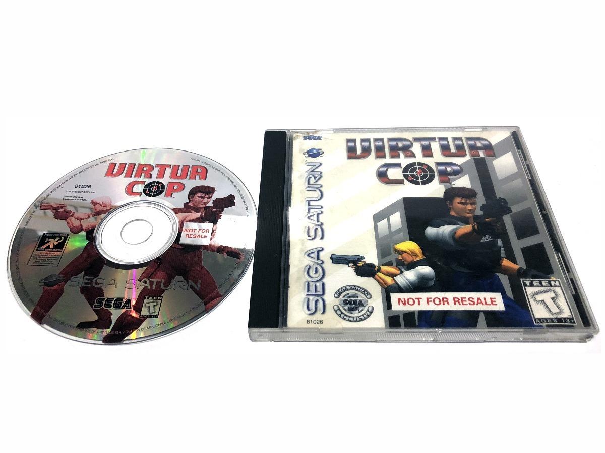 Virtua Cop Juego Original Para Sega Saturn 790 00 En Mercado Libre