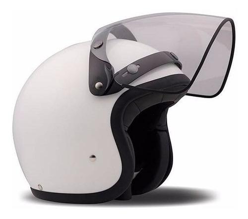 visera daytona para casco humo/ transparente accesorio moto