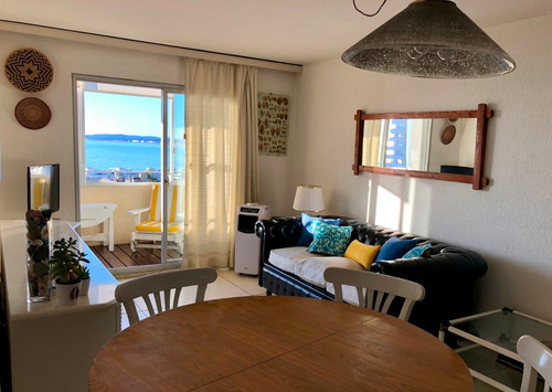 vista panorámica al puerto, isla gorriti y playa mansa