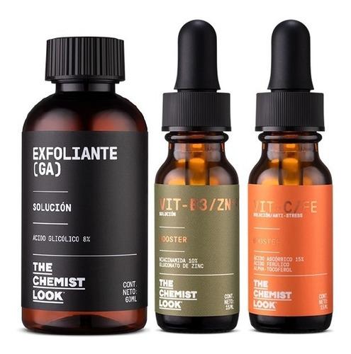 vitamina c 15% + niacinamida + exfoliante - the chemist look