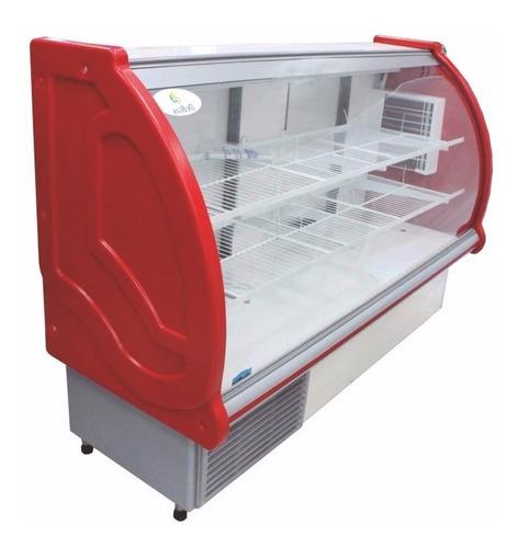 vitrina refrigerada 1.80mts con mostrador