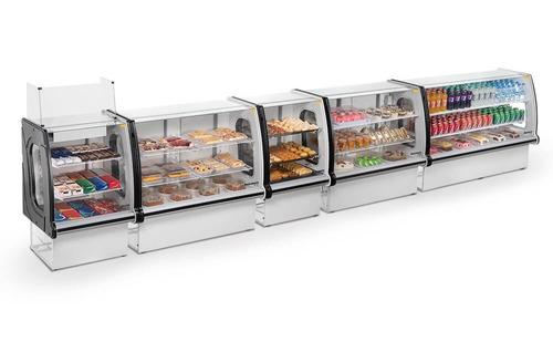 vitrina refrigerada mostrador refrimate. equiparte.