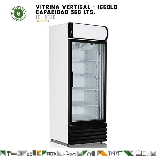 vitrinas verticales refrigerada