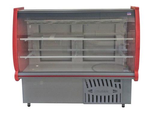 vitrinas vtrina mostrador refrigeradas debras 200 cm - fama