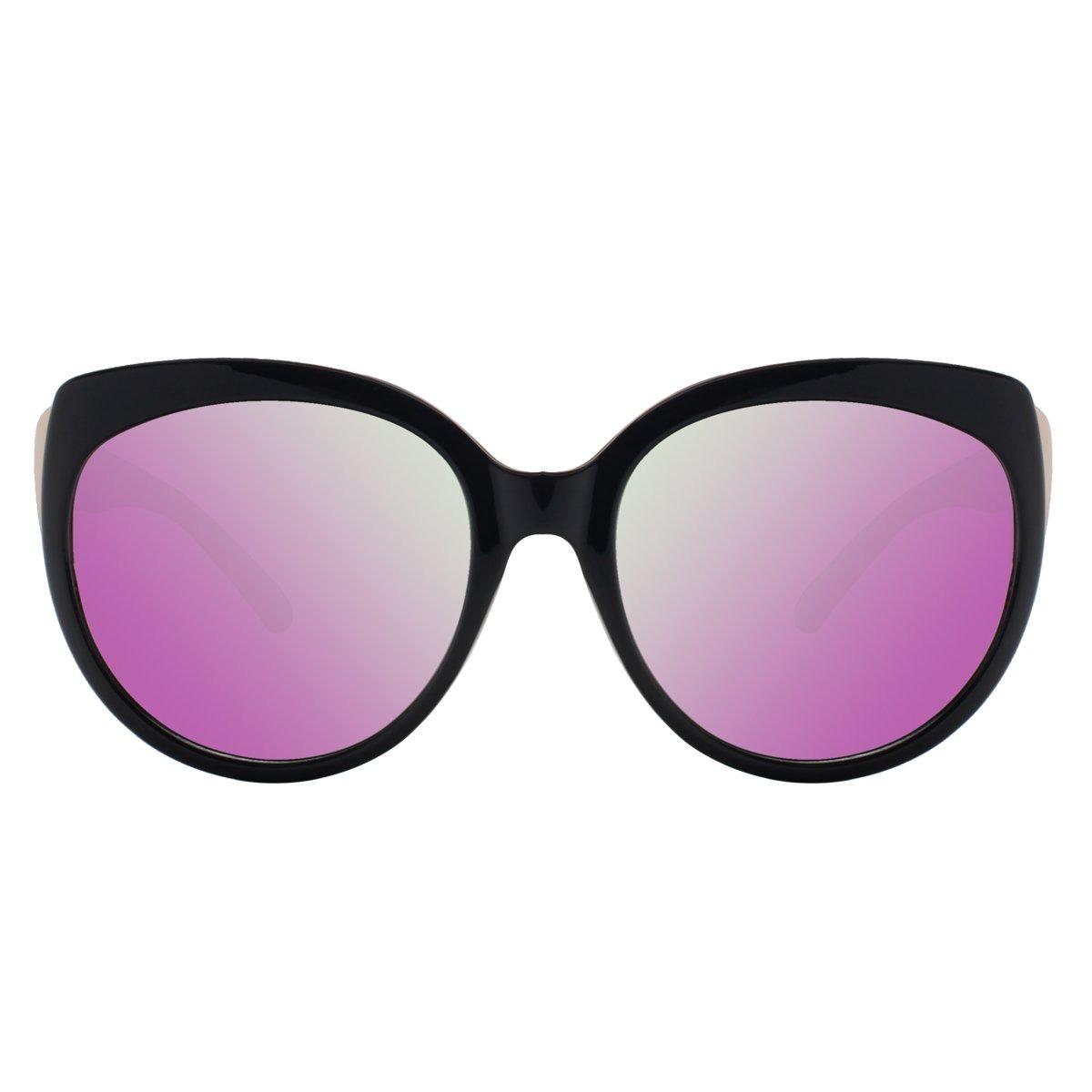 vivienfang gafas de sol de ojo de gato polarizadas para m. Cargando zoom. 13afb6b1a88b