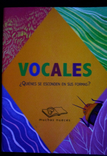 vocales  libro infantil