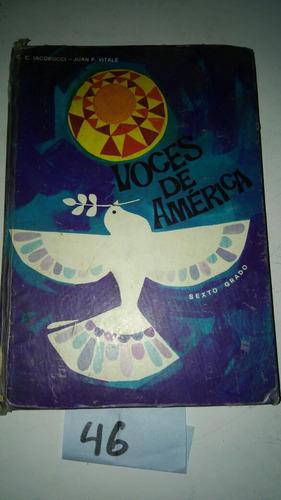 voces de america sexto grado