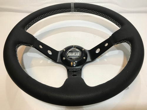 volante deportivo tuning racing sparco modelo negro sn9-1