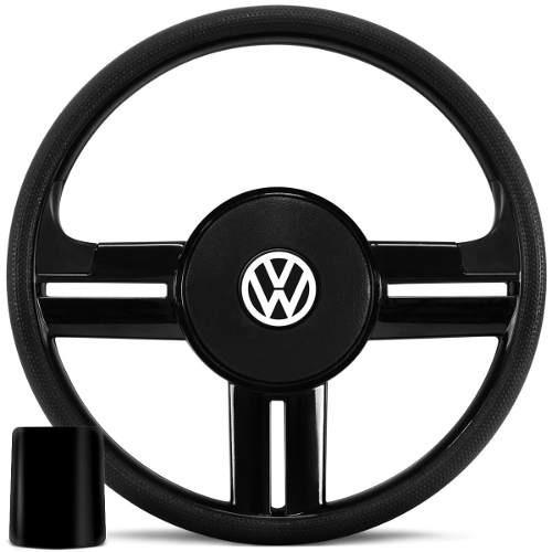 volante negro rallye para toda la línea wolkswage +obsequio